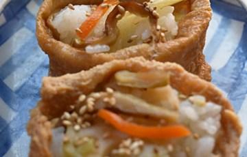 京風ちらし寿司の素で、作るいなり寿司