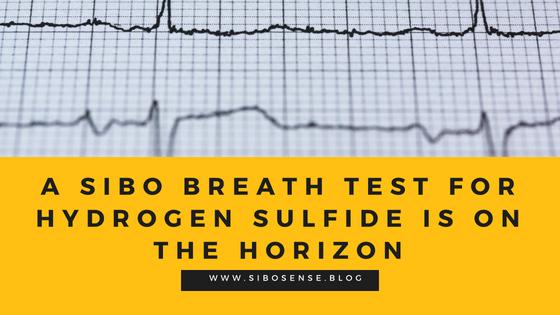 SIBO Breath Test For Hydrogen Sulfide