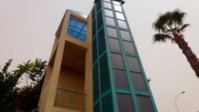 Лифт на улице в Пафосе