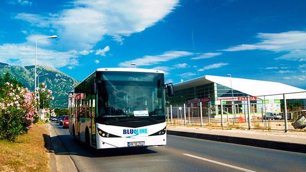 Автобусы в Тивате