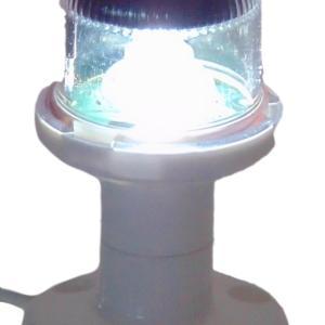 Fanale di via orionis g 12v 225° testa d'albero bianco (masthead) led - Product design