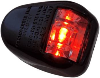Fanale di via orionis a 112,5° sinistro (port) rosso - nero led - Automotive Tail & Brake Light