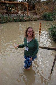 Juanita at the Jordan River