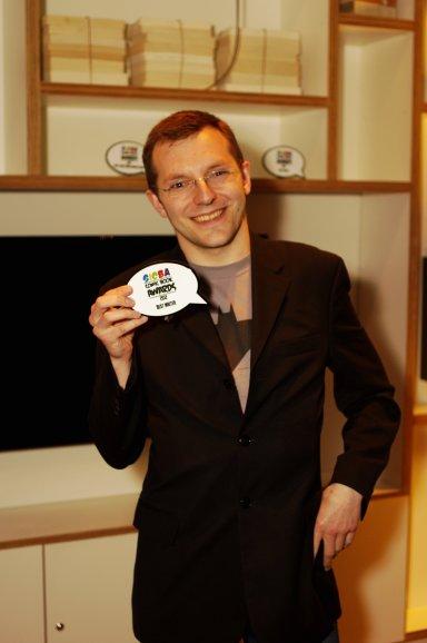 Winner of Best Writer, John Lees