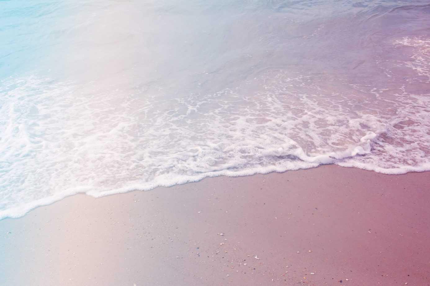 Entspannen beim leisen Rauschen des Meeres