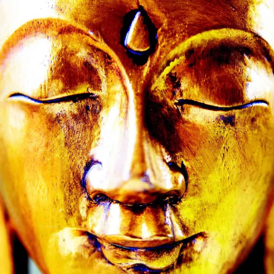 Drittes Auge Buddha