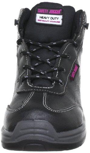 Safety Jogger Force2 Force 2, Unisex-Erwachsene Sicherheitsschuhe, Schwarz (BLK), EU 39 - 4
