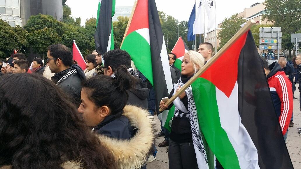 2demo palästina ddorf