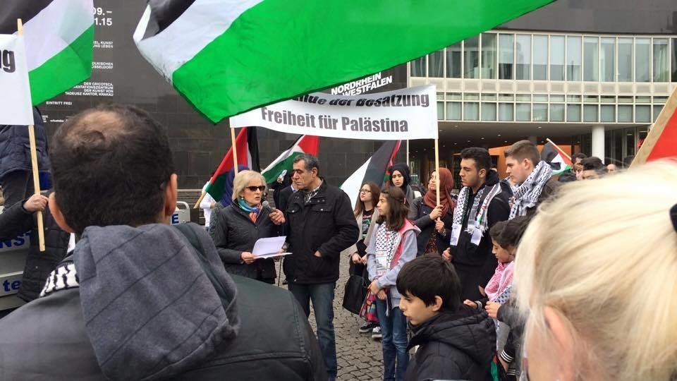demo palästina ddorf