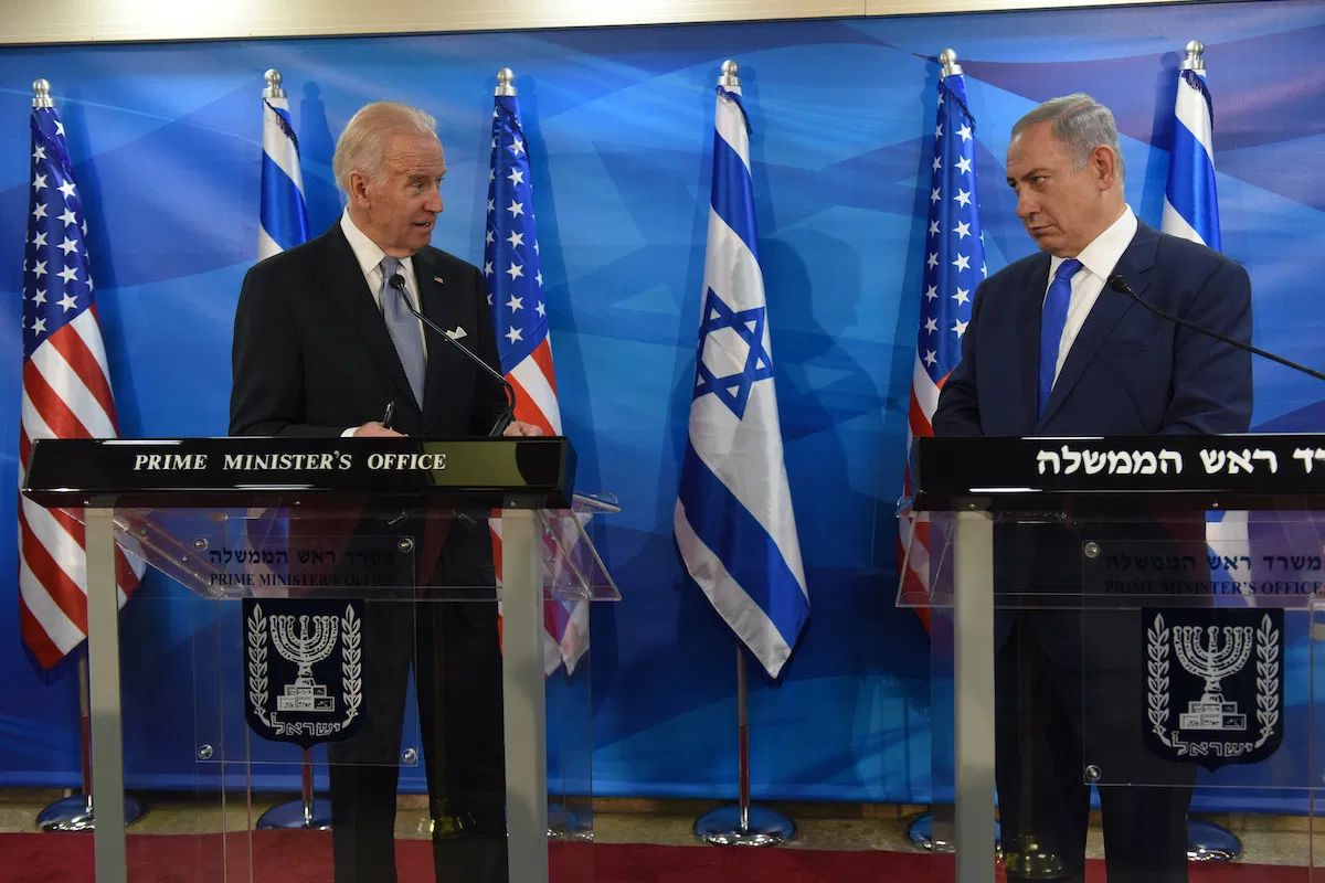 Biden and Netanjahu