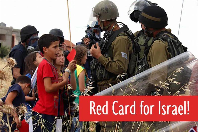 redcard-israel