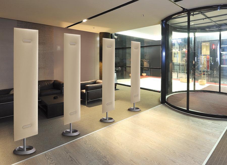 Design Schallschutz Trennwand Büro Sichtschutz