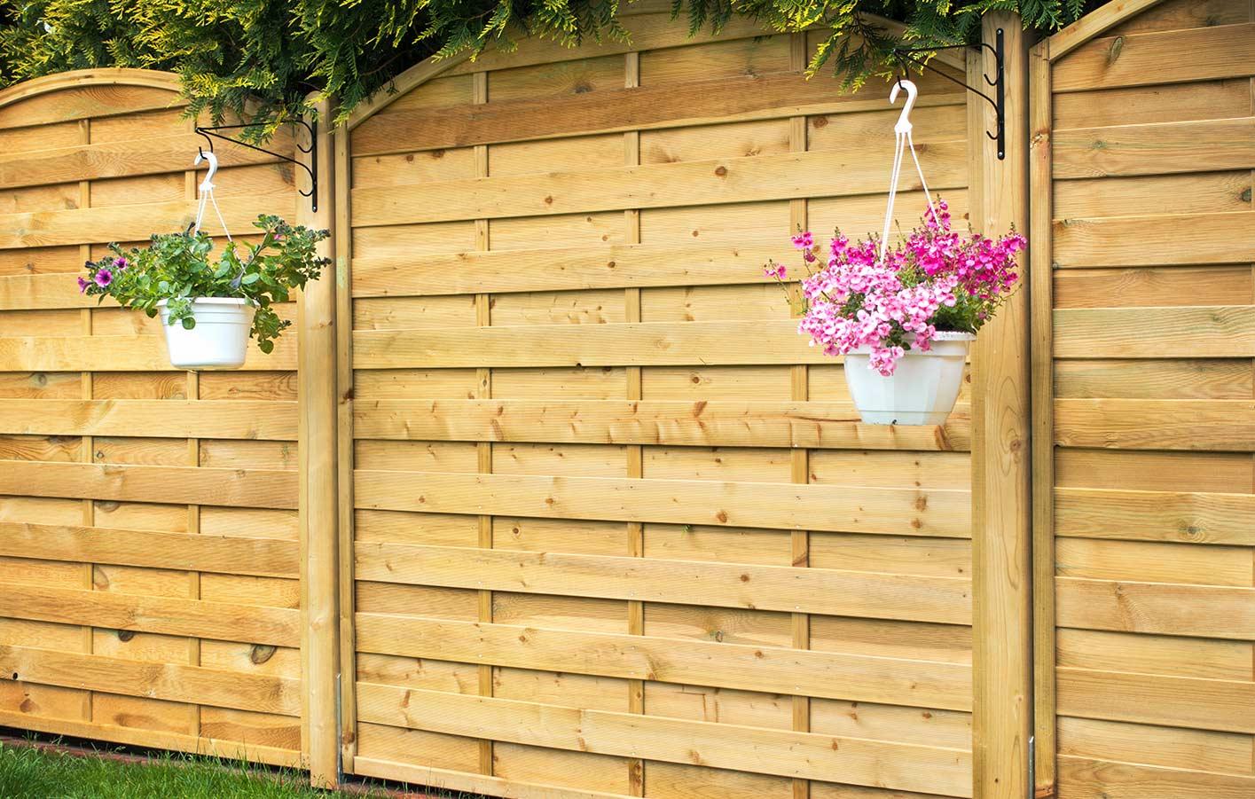 Sichtschutz Terrasse Variabel Zäune Sichtschutz Gartenzaun