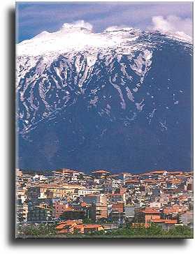 Bronte am Etna