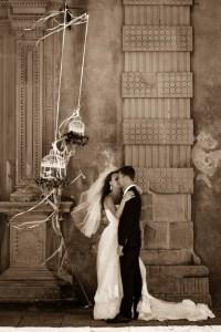 свадебное фото Сицилия