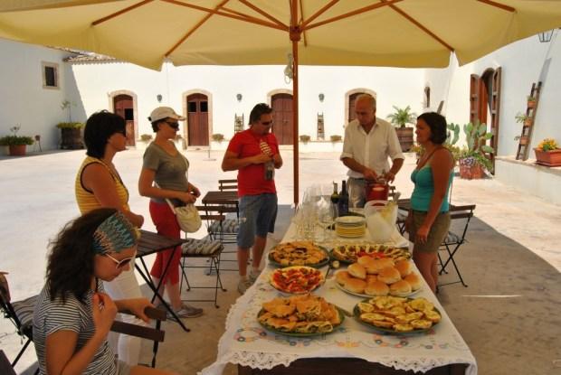 дегустация вин на Сицилии