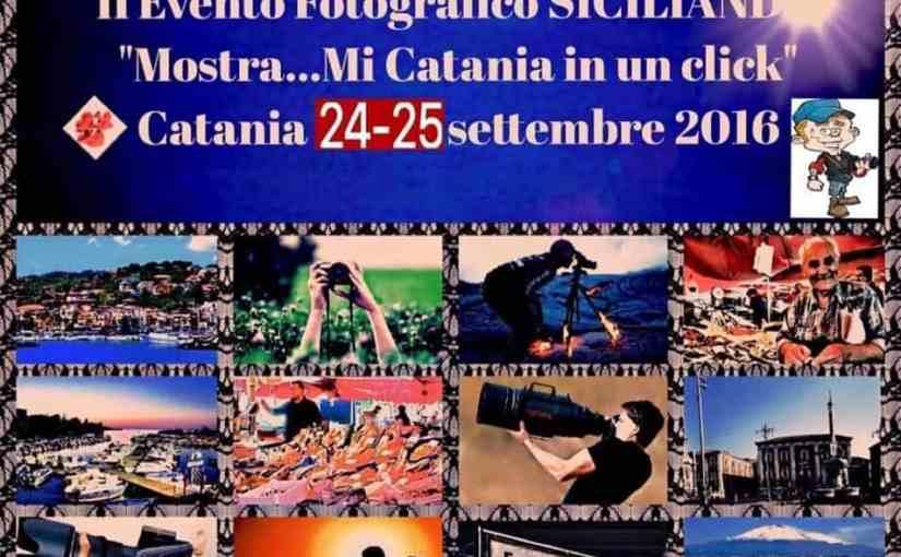 """Evento fotografico """"Mostra…mi Catania con un click"""""""