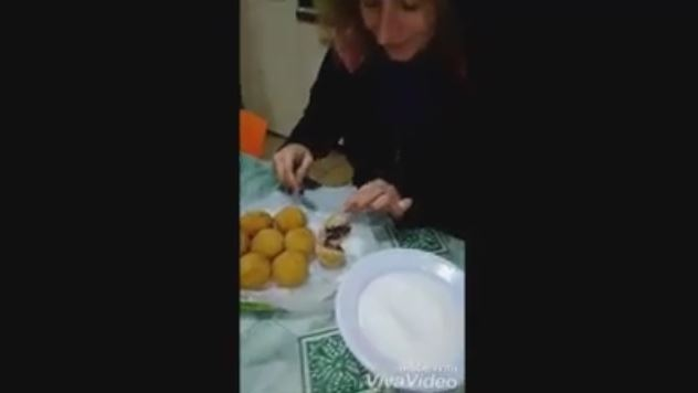 arancine al cioccolato ricetta