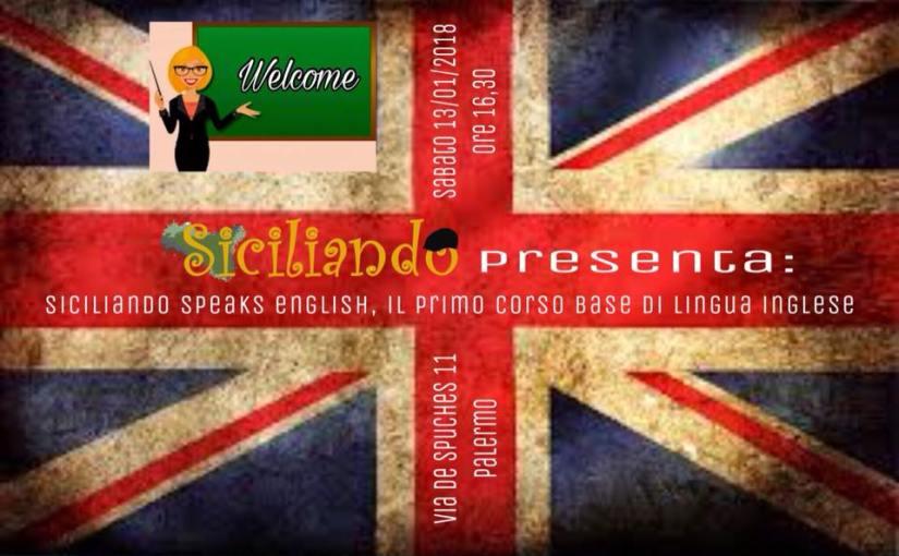 Corsi, Siciliando speaks English