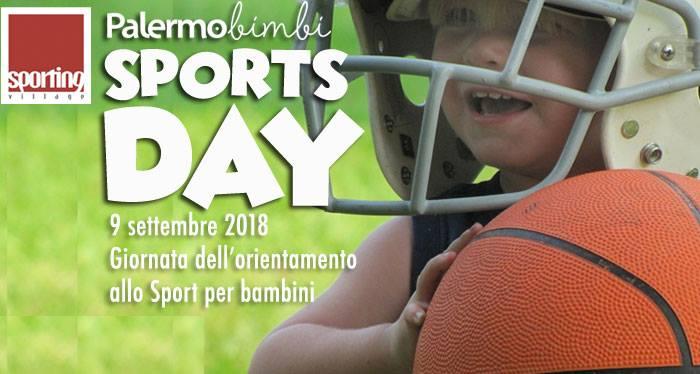 """Gli appuntamenti di Siciliando, """"Palermobimbi Sports Day"""""""