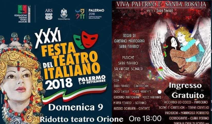 """In scena """"Viva Palermo e Santa Rosalia"""""""