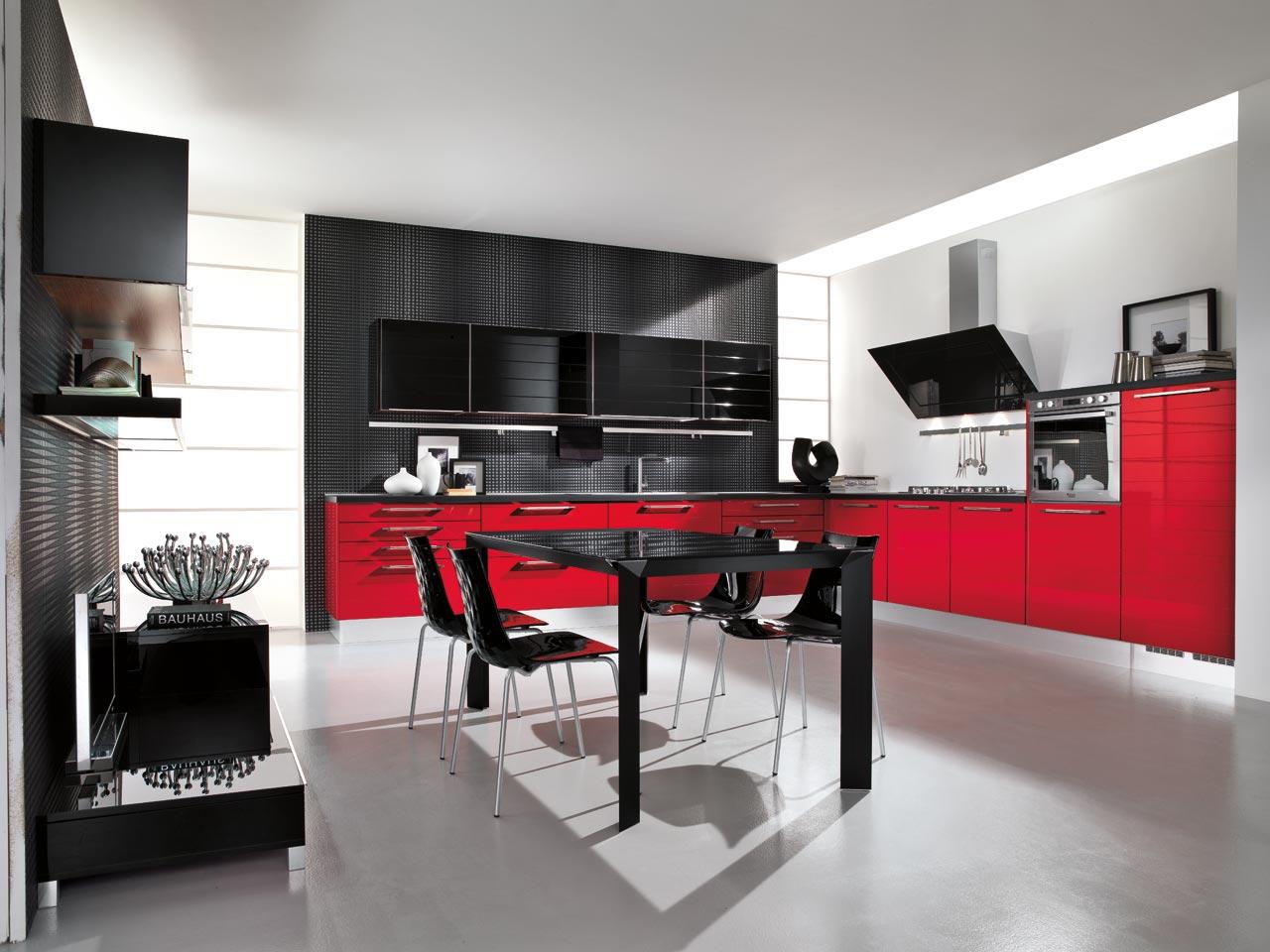 Cucina Lube Rossa | Cucina Lube Usata