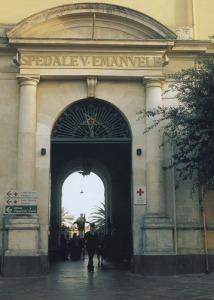 L'ospedale Vittorio Emanuele di Catania
