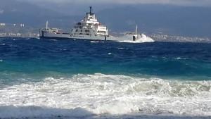Una nave della flotta FS