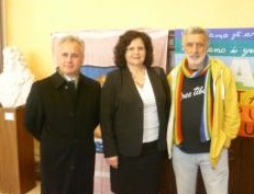 Accorinti con sindaco San Mauro Pascoli