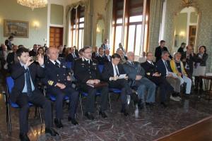Presenti le massime autorità cittadine e militari