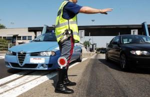 Polizia stradale grande