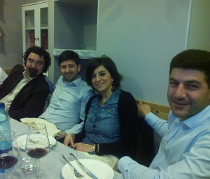 Da sin. : Domenico Siracusano, Roberto Speranza, Maria Flavia Timbro, Peppe Grioli