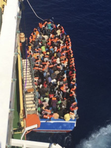 migranti norvegese Siem Pilot