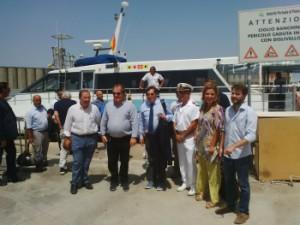 Inaugurazione aliscafi Palermo-Ustica 31-7-2015