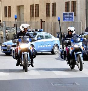 Motociclisti Polizia Ragusa