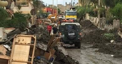 #Barcellona. Alluvione, rimossi 400 metri cubi di fango e detriti FOTOGALLERY