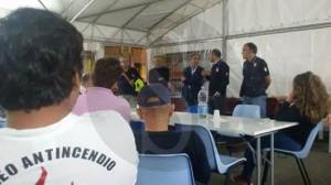 Alluvione Barcellona, sindaco ringrazia volontari 17-10-2015 d