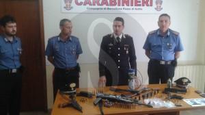 Armi Barcellona carabinieri 26-10-2015 Capitano Valletta