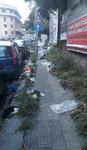 Immondizia piazza Trombetta 15-10-2015 b