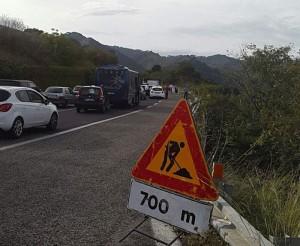 Incidente A20, 9-20-2015 fila auto