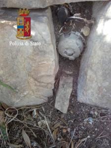 Ragusa Scicli Polizia bomba