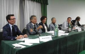 Da sinistra Salvatore Stifanelli, Bruno Caruso, Lorena Raspanti, Temistocle Bussino, Danilo Papa e Antonio Lo Faro