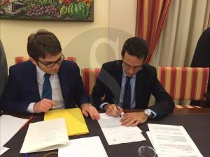 Commercialisti Sicilia - Costituzione SAF - la firma del presidente del ...