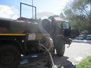 Esercito distribuisce acqua a Messina 5-11-2015