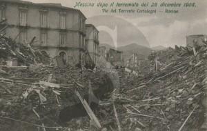 Messina, terremoto, case intatte