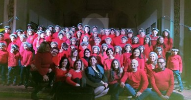 #Barcellona. Canti di Natale per il concerto del coro della scuola primaria di Sant'Antonio