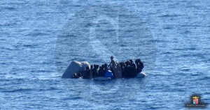 Migranti, profughi Canale di Sicilia 28-1-2016 d