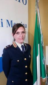 Il Commissario Capo Anna Sammarro