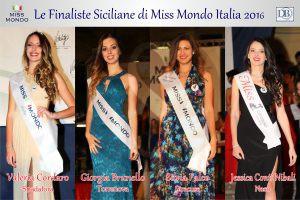 Le quattro finaliste siciliane