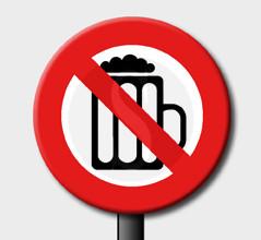 vietata vendita alcoliche